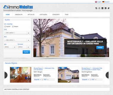 Beispiel-Website > Startseite