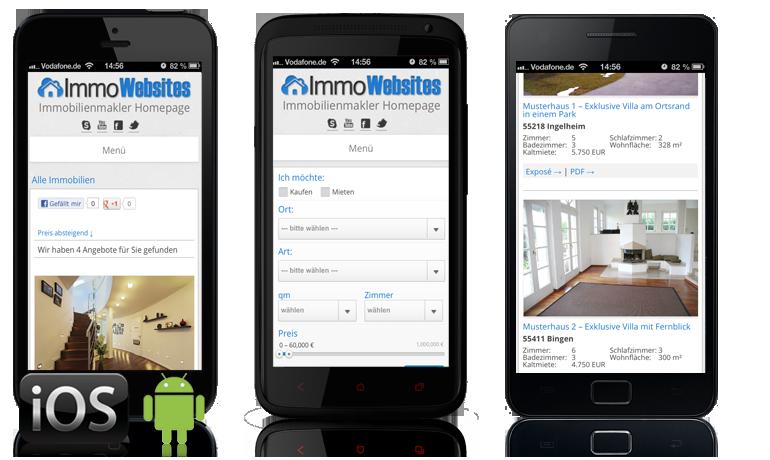 Inklusive Smartphone Web-App